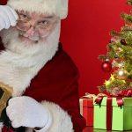 Santa Claus Christmas Christmas Tree